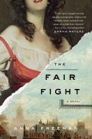 Book jacket: The Fair Fight by Anna Freeman