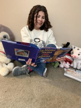 Voluntaria destacada Gabby Delgado