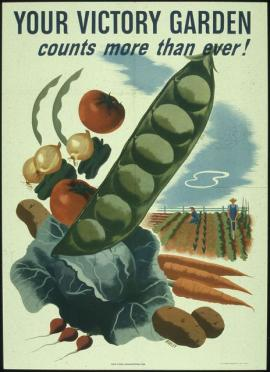 Your Victory Garden countys more than ever! 1941 - 1945. From the U.S. National Archives