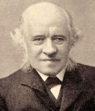 Sir George Grove, editor of Grove's Dictionary of Music and Musicians circa 1890