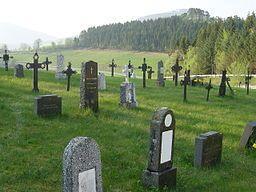Graveyard in Gjemnes, Norway