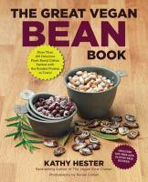 Great Vegan Bean Book book jacket