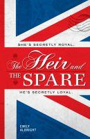 The Heir and the Spare book jacket