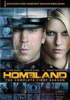 Homeland dvd cover