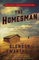 The Homesman book jacket