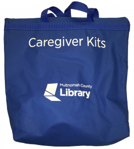 Caregivers kit bag - exterior shot