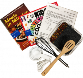 Caregiver kits contents - cooking tools