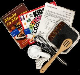Caregiver kits contents - cooking tools