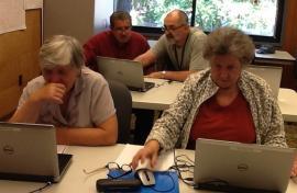 Компьютерный класс в библиотеке Rockwood