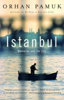 Istanbul Memories book jacket