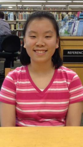 Volunteer Ivy Wong