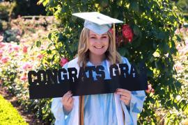 GED student Jade Newgaard