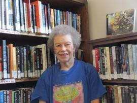 Volunteer Jean Frazier