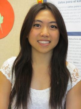 Volunteer Julia Yu
