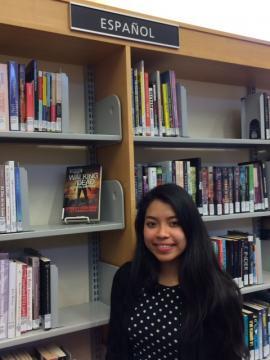 Volunteer Karla Chan