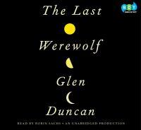 The Last Werewolf CD cover