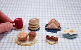 Felted Mini Breakfast