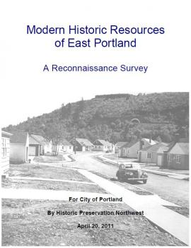 Modern Historic Resources of East Portland