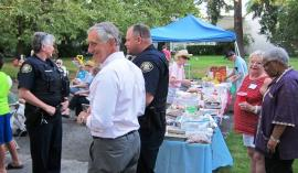 Mayor Charlie Hales at National Night Out - City of Portland photo