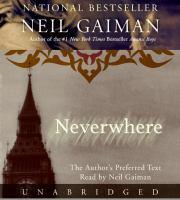 Neverwhere book jacket