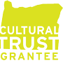 Logo for and link to Oregon Cultural Trust