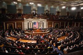 President Obama addressing a joint session of Congress, 2009