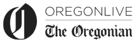 Logo for and link to The Oregonian