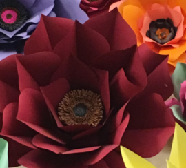 Make Your Own Massive Paper Flower Multnomah County Library