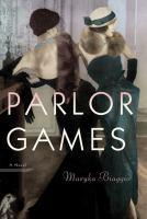 Parlor Games book jacket