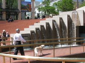 Photo of Pioneer Courthouse Square