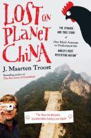 Lost on Planet China book jacket