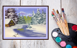 Russian Play Time: Winter Drawing