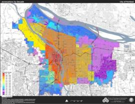 Map of historical annexations to the City of Portland (pdf, from Portland Bureau of Planning & Sustainability)