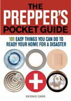 Prepper's Pocket Guide book jacket