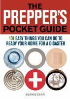Prepper's Pocket Guide book jacket