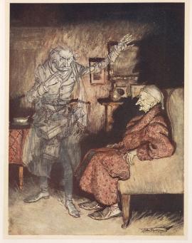 Arthur Rackham, from A Christmas Carol