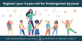 Flyer on registering children for Kindergarten in PPS.