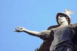 Statue of Roman god
