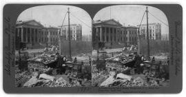 San Francisco Mint after the earthquake, 1906.