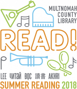 Logo for Summer Reading 2018
