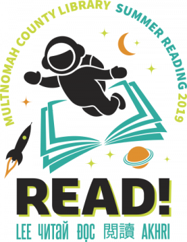 Logo for Summer Reading 2019