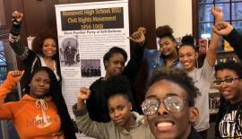 Youth Curated Black History Traveling Museum STJ