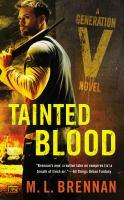 Tainted Blood book jacket