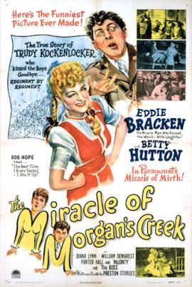 The Miracle of Morgans Creek poster