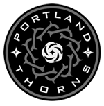 Logo for and link to the Portland Thorns
