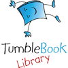 Logo for and link to TumbleBook Library