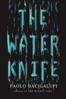 The Water Knife book jacket