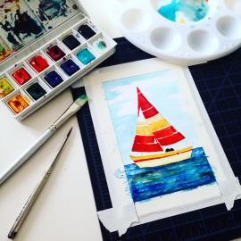 Watercolor Still Life - Jess Graff