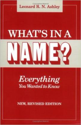 What's in a Name Everything You Wanted to Know