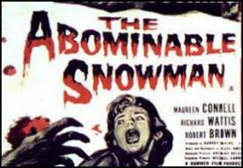 Abominable Snowman Movie Ad
